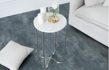 Designer Beistelltisch MARMO WHITE von NATIVO™ Designer Möbel Österreich