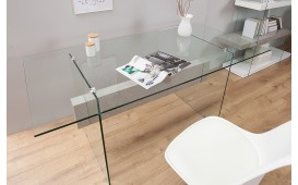 Designer Schreibtisch DUO CONCRETE 160 cm