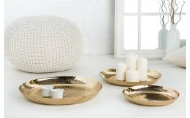 Designer Dekoschale ORIENTAL GOLD SET 3