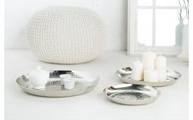 Designer Dekoschale ORIENTAL SILVER SET 3 von NATIVO™ Designer Möbel Österreich