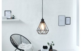 Designer Hängeleuchte CAGE SMALL BLACK von NATIVO™ Designer Möbel Österreich