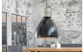 Designer Hängeleuchte FABRIK BLACK SILVER 40 cm