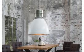 Designer Hängeleuchte FABRIK WHITE SILVER 54 cm