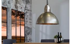 Designer Hängeleuchte INDUSTRY SILVER 35 cm von NATIVO™ Designer Möbel Österreich