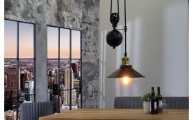 Designer Hängeleuchte CORD BLACK GOLD von NATIVO™ Designer Möbel Österreich