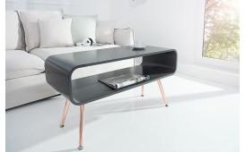 Designer Couchtisch COSMOPOLITAN ANTHRACIT 90 cm von NATIVO™ Möbel Deutschland