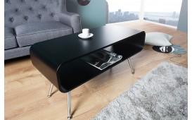 Designer Couchtisch COSMOPOLITAN BLACK 90 cm von NATIVO™ Designer Möbel Schweiz