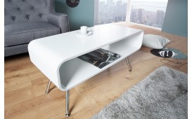 Designer Couchtisch COSMOPOLITAN WHITE 90 cm von NATIVO™ Möbel Deutschland