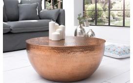 Designer Couchtisch KUPA HALF COPPER 70 cm von NATIVO™ Möbel Deutschland