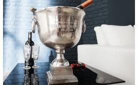 Designer Champagner-Kühler ROYALS 40 cm SILVER von NATIVO™ Designer Möbel Österreich