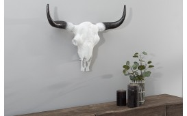 Designer Schädel TORERO WHITE 50 cm