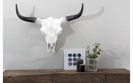 Designer Schädel TORERO WHITE 70 cm von NATIVO™ Designer Möbel Österreich
