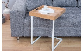 Designer Beistelltisch CIARO WHITE OAK von NATIVO™ Designer Möbel Österreich