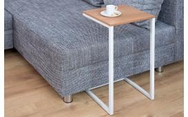 Designer Beistelltisch SIMPO 60 cm OAK WHITE von NATIVO™ Designer Möbel Österreich