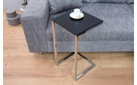 Designer Beistelltisch SIMPO 60 cm BLACK SILVER von NATIVO™ Designer Möbel Österreich