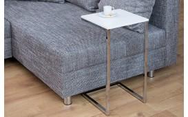 Designer Beistelltisch SIMPO 60 cm WHITE SILVER von NATIVO™ Designer Möbel Österreich