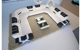 Designer Sofa MYSTIQUE CORNER U FORM mit LED Beleuchtung & USB Anschluss von NATIVO™ Designer Möbel Österreich