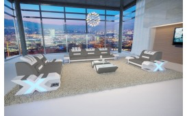 Designer Sofa MYSTIQUE 3+2+1 mit LED Beleuchtung & USB Anschluss von NATIVO™ Designer Möbel Österreich