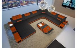 Designer Sofa MYSTIQUE XXL mit LED Beleuchtung & USB Anschluss von NATIVO™ Designer Möbel Österreich