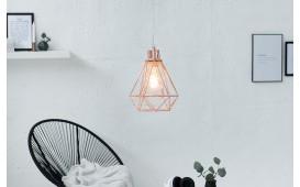 Designer Hängeleuchte CAGE SMALL COPPER von NATIVO™ Designer Möbel Österreich