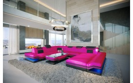 Designer Sofa ROUGE XXL mit LED Beleuchtung & USB Anschluss von NATIVO™ Designer Möbel Österreich
