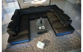 Designer Sofa ROUGE CORNER U-FORM mit LED Beleuchtung & USB Anschluss von NATIVO™ Designer Möbel Österreich