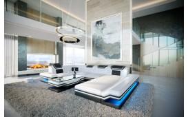 Designer Sofa ROUGE XL mit LED Beleuchtung & USB Anschluss