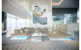 Designer Sofa ROUGE XL mit LED Beleuchtung & USB Anschluss von NATIVO™ Designer Möbel Österreich
