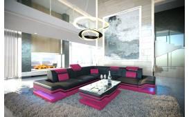 Designer Sofa ROUGE CORNER mit LED Beleuchtung & USB Anschluss von NATIVO™ Designer Möbel Österreich
