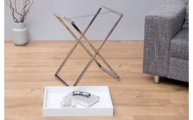 Designer Beistelltisch LAVET WHITE SILVER von NATIVO™ Designer Möbel Österreich
