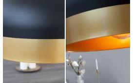 Designer Hängeleuchte CHIC BIG BLACK GOLD von NATIVO™ Designer Möbel Österreich