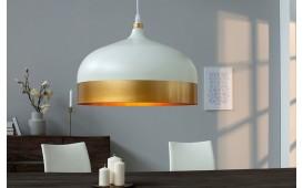 Designer Hängeleuchte CHIC BIG WHITE GOLD von NATIVO™ Designer Möbel Österreich