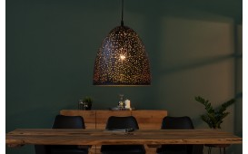Designer Hängeleuchte LONAR BIG BLACK COPPER