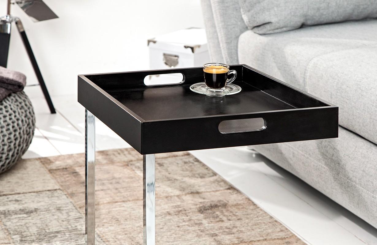 Beistelltisch ciaro black von nativo designer m bel sterreich for Designer beistelltisch