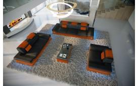 Designer Sofa ROUGE 3+2+1 mit LED Beleuchtung & USB Anschluss von NATIVO™ Designer Möbel Österreich