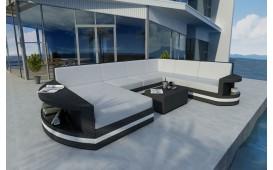 Designer Rattan Lounge Sofa ATLANTIS XXL V2