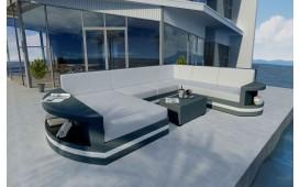 Designer Rattan Lounge Sofa ATLANTIS XXL