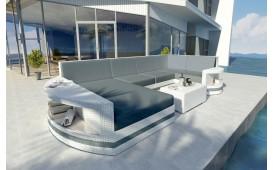 Designer Rattan Lounge Sofa ATLANTIS XL