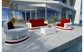 Designer Rattan Lounge Set ATLANTIS 2+1+1 V2
