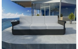 Designer Rattan Lounge Sofa ATLANTIS 3 Sitzer V1 von NATIVO™ Designer Möbel Österreich