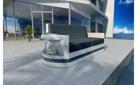 Designer Rattan Lounge Sofa ATLANTIS 2 Sitzer V2 von NATIVO™ Designer Möbel Österreich