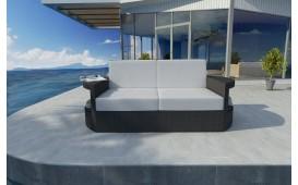 Designer Rattan Lounge Sofa ATLANTIS 2 Sitzer V1 von NATIVO™ Designer Möbel Österreich
