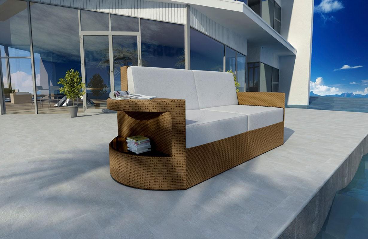 Finest Designer Rattan Lounge Sofa Atlantis Sitzer V Von Nativo Designer  Mbel Sterreich With Rattan Lounge 2 Sitzer