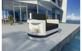 Designer Rattan Lounge Sofa ATLANTIS 1 Sitzer