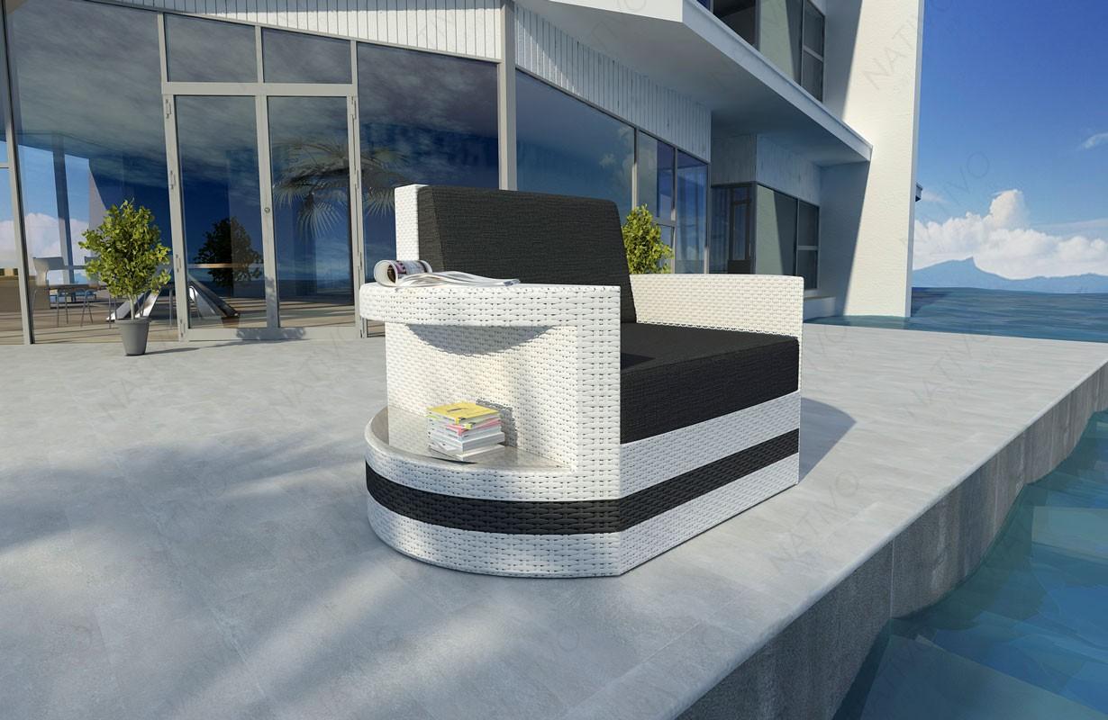 Rattan Lounge Sofa Atlantis 1 Sitzer Modular Von Nativo Möbel