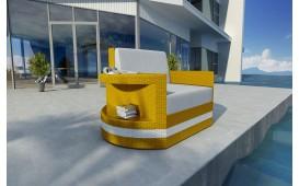 Designer Rattan Lounge Sofa ATLANTIS 1 Sitzer V2 von NATIVO™ Designer Möbel Österreich