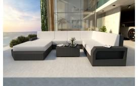 Designer Rattan Lounge Sofa MESIA XXL V1