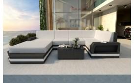 Designer Rattan Lounge Sofa MESIA XL V2 von NATIVO™ Designer Möbel Österreich
