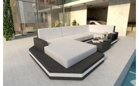 Designer Rattan Lounge Sofa MESIA XL
