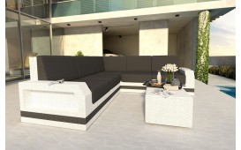 Designer Rattan Lounge Sofa MESIA CORNER V2 von NATIVO™ Designer Möbel Österreich